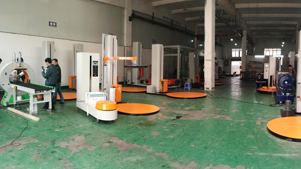 wrapping machine factory